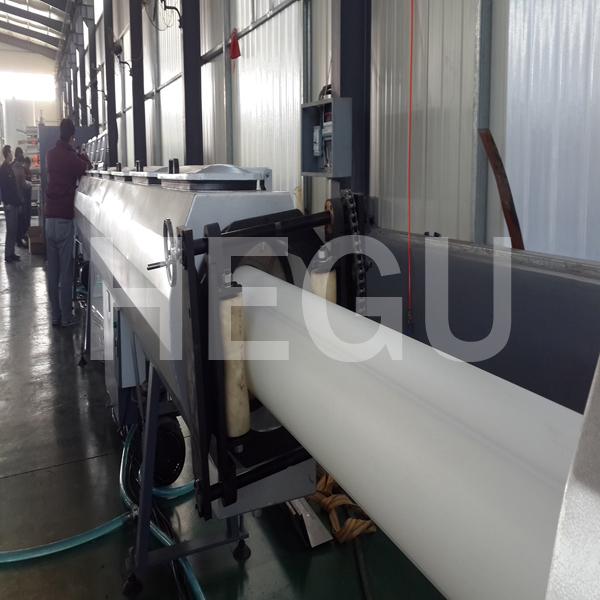 PE PP PPR тръба машина за производство на газ тръба PE машина Featured Изображение