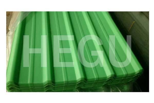 Фишка мошини варақ PVC PVC боми corrugated мошини номатлуб extrusion Аслӣ