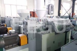 China wholesale Fosita Plastic Machinery - PE PP PPR pipe machine  PE multi-layer pipe making machine – WOOD-PLASTIC