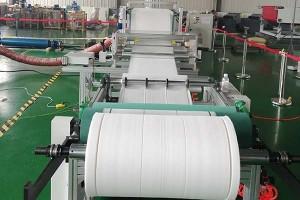 600-1600mm Filter material melt blown machine pp non woven fabric making machine