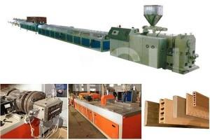 Wood Plastic WPC machine  PP PE WPC profile extrusion line