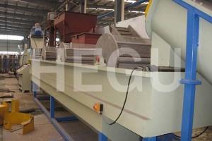 Palastik mesin daur ulang PPpe cuci crushing garis drying