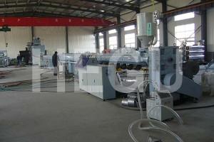 OEM/ODM Supplier Pp Pe Film Blowing Machine - PE PP PPR pipe machine  large diameter PE winding pipe machine – WOOD-PLASTIC