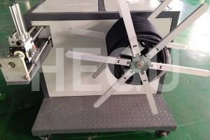 Valovita cev stroj PP zavijanje jeklene žice valovite stroj za cevi