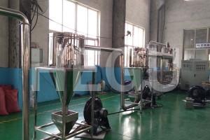 SHMS75 300-350 kgs/h PP PE WPC granule making machine WPC granulator
