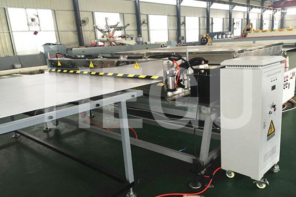 1700mm PE PC PP twin wall sheet making machine Featured Image