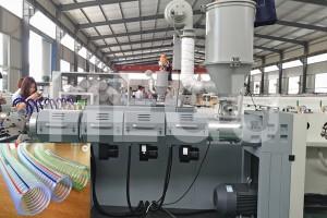 PVC chitoliro makina PVC zitsulo waya analimbitsa chitoliro kupanga makina