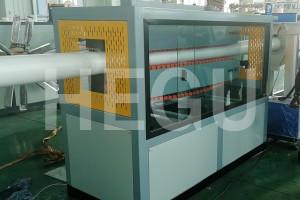 50-200mm PVC draenio llinell pibell allwthio