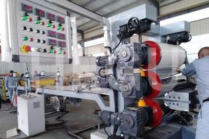 پلاسٹک شیٹ مشین ABS / کولہوں / PP / PE شیٹ مشین