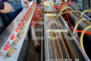 Wood Пластмасови WPC машина PVC WPC профил машина