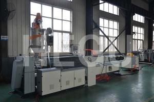 Corrugated pipe machine  vacuum cooling corrugated pipe machine