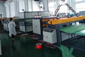 Plastic Sheet machine Auxiliary makina alang sa PP piyakpiyak profile sheet machine