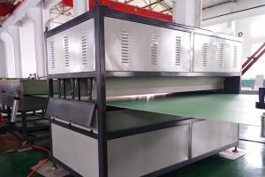 Пластмасов лист машина Спомагателни машини за PP кух профил лист машината