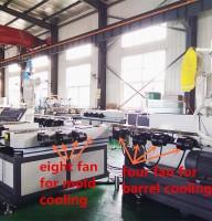 HDPE מכונת צינור גלי / PVC קיר כפול גלי הצינור למכונה