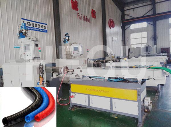 9mm – 50 mm Corrugated pipe machine high speed corrugated pipe machine Featured Image