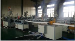 PE prestressed single wall corrugated pipe  making machine manufacturer price
