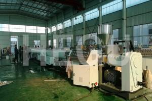 China wholesale Design Performance Spiral Pvc Electric Conduit Spiral Pipe Forming Making Machine