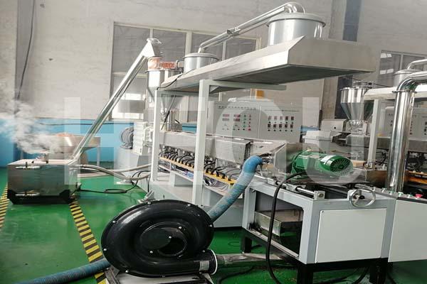 SHMS92  450-500 kgs/h PP PE WPC granule making machine WPC granulator Featured Image
